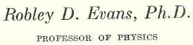 Evans  -  2