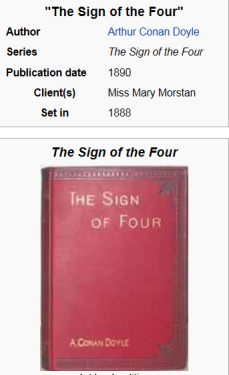 sign of four 2