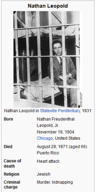 leopold loeb jail cell