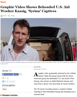 kassig basic 16 head syria