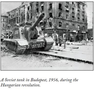 hungary 1956 tank