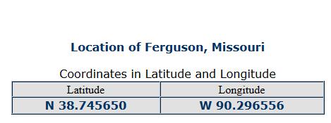 ferguson ccordinates