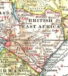 Africa kenya british east africa